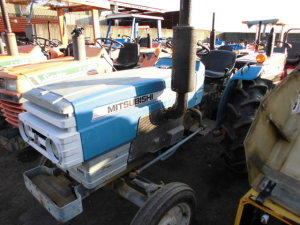 Mitsubishi Tractor The most recent stock as at Luly 10, 2018