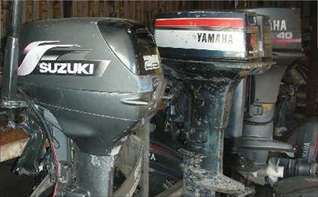 Out board engine